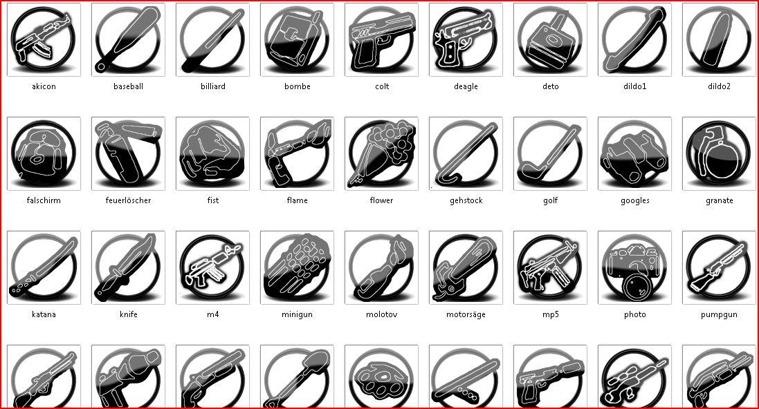 иконки для гта: