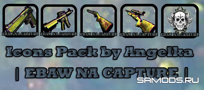 Icons Pack by Angelka | EBAW NA CAPTURE |